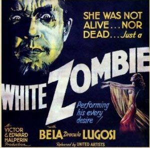 She was not alive ... nor dead ... Just a White Zombie performing his every desire - movie poster