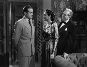 """Bob Hope, Dorothy Lamour, and Charles Dingle in """"My Favorite Brunette"""""""
