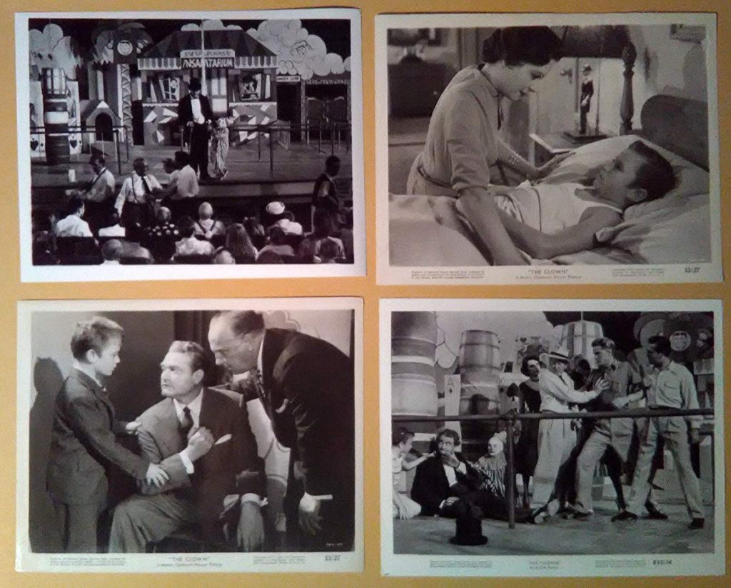 Photo montage of Red Skelton's The Clown