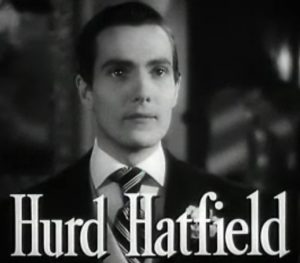 Hurd Hatfield as the title character in The Picture of Dorian Gray
