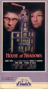 House of Shadows, aka. La casa de las sombras (1976) starring Yvonne De Carlo, John Gavin, Leonor Manso