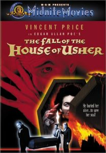 The Fall of the House of Usher (1960) starring Vincent Price, Mark Damon, by Roger Corman