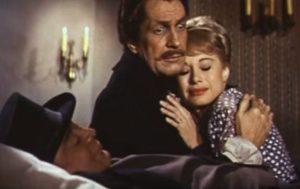 "Peter Lorre, Vincent Price & Joyce Jameson in ""Tales of Terror"""