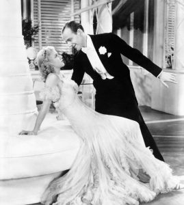 Fred Astaire and Ginger Rogers dancing in The Gay Divorcee