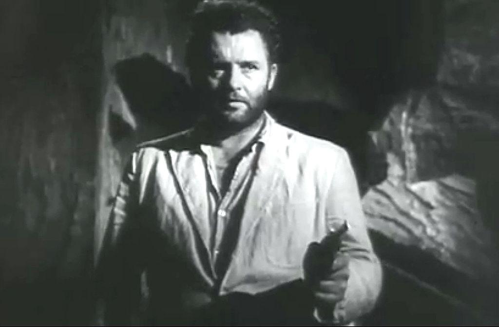 Rod Steiger as Vasquel in Back from Eternity