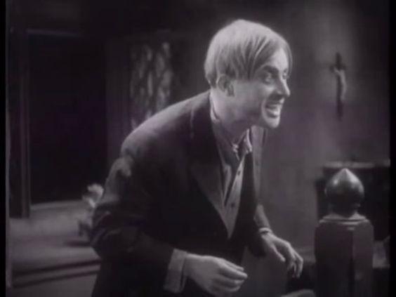 Dwight Frye as the suspected vampire in The Vampire Bat