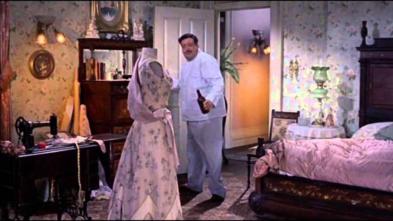 Song lyrics to Call me irresponsible, Music by Jimmy Van Heusen, Lyrics by Sammy Cahn, Sung by Jackie Gleason in Papa's Delicate Condition