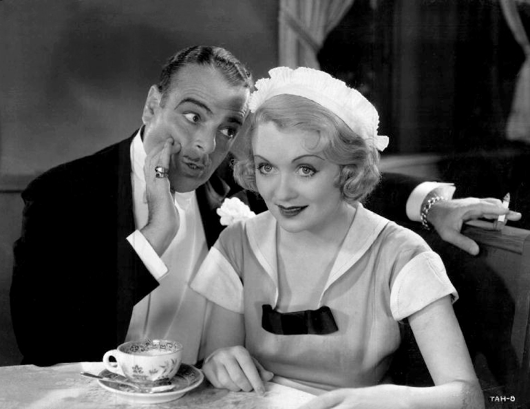 Lowell Sherman and Constance Bennett in What Price Hollywood?