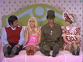 Harvey Korman, Carol Burnett, Lyle Wagonner, Vicki Lawrence in the Barby and Ben skit on The Carol Burnett Show