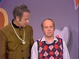 "Harvey Korman and Tim Conway in ""The Dater's Game"" on The Carol Burnett Show"