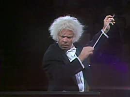 Tim Conway as the World's Oldest Conductor, conducting the orchestra at the Sydney Opera House