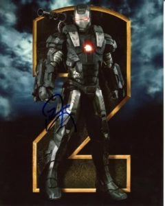 Don Cheadle as Rhodey in the War Machine armor in Iron Man 2