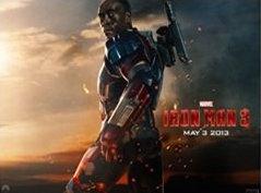 Don Cheadle as Iron Patriot in Iron Man 3
