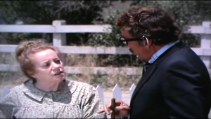 Elsa Lanchest has Green Fingers in Night Gallery season 2 … and Cameron Mitchell comes to regret it!