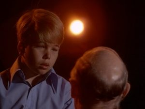In The Boy Who Predicted Earthquakes, a young boy (Clint Howard) has the gift of telling the future - Night Gallery season 2