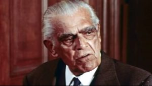 Boris Karloff as Professor John Marsh, expert of witchcraft