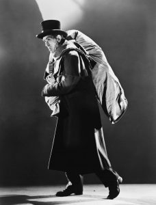 Boris Karloff as The Body Snatcher