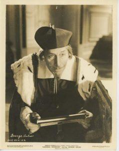George Arliss as Cardinal Richelieu