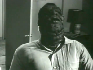 Alex Marsh (John Agar) after his transformation in Hand of Death