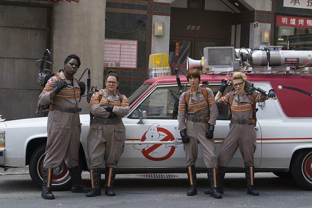 Ghostbusters 2016 - Leslie Jones, Melissa McCarty, Kate McKinnon, Kristen Wiig