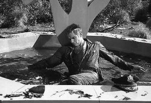 Charlton Heston as the ending of The Omega Man