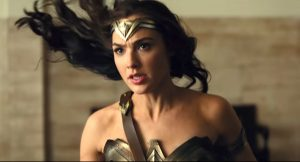 Gal Gadot as Wonder Woman in Justice League
