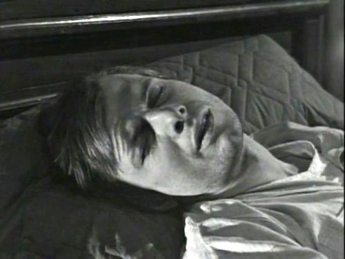 Dark Shadows episode 217 - Willie Loomis sleeping fitfully