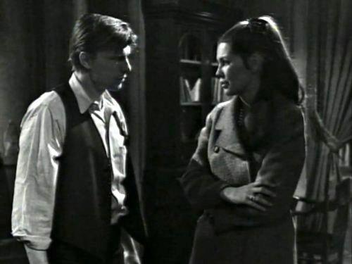 Dark Shadows season 2 episode 222 - Willie Loomis and Victoria Winters talking
