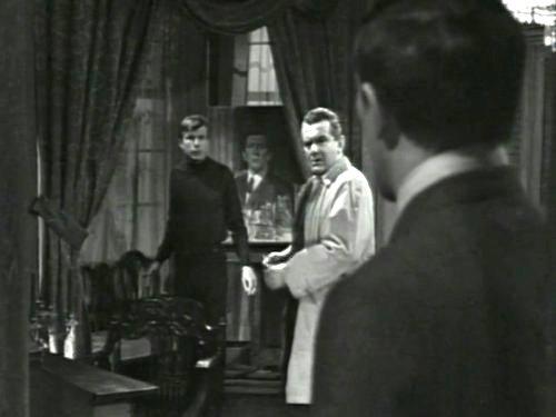 Dark Shadows season 2 episode 243 - Willie Loomis, Dr. Woodward, and Barnabas Collins