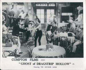 Teenage dance scene in The Ghost of Dragstrip Hollow