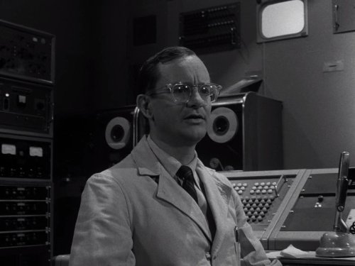 From Agnes-With Love, starring Wally Cox.  The Twilight Zone season 5