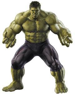 The Incredible Hulk, alias Bruce Banner - both portrayed by Mark Ruffalo