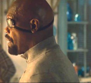 Nick Fury, of S.H.I.E.L.D.