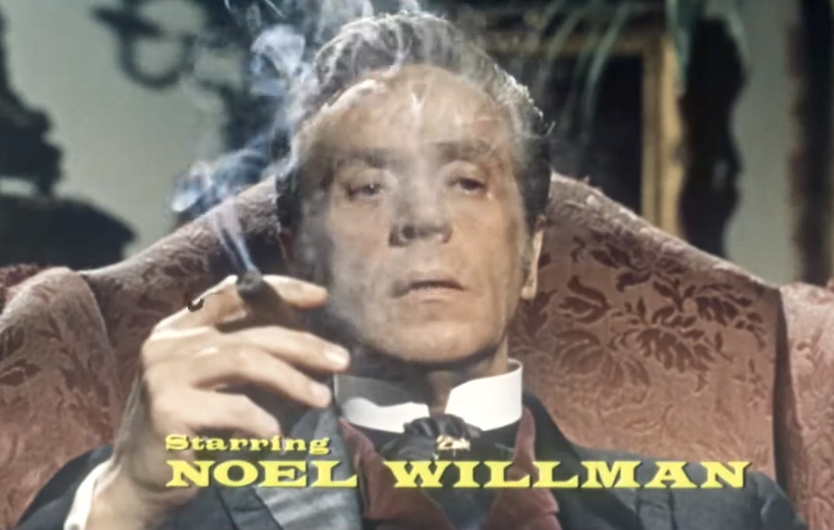 Noel Willman as Dr. Franklyn in The Reptile