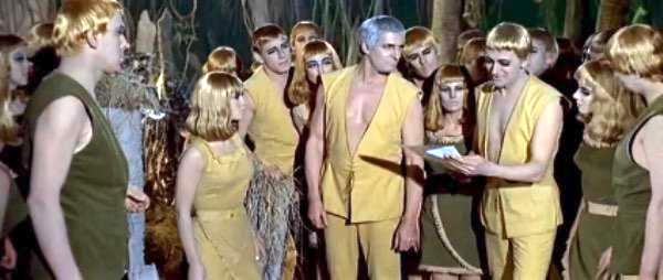 The Skals - the friendly humanoids in Dr Who and the Daleks