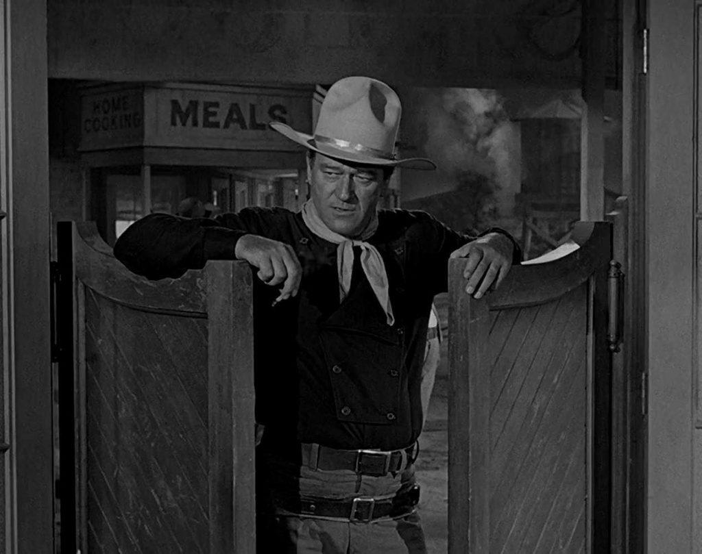 "John Wayne in ""The Man Who Shot Liberty Valance"""