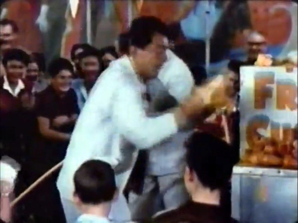 Dean Martin in the custard disaster