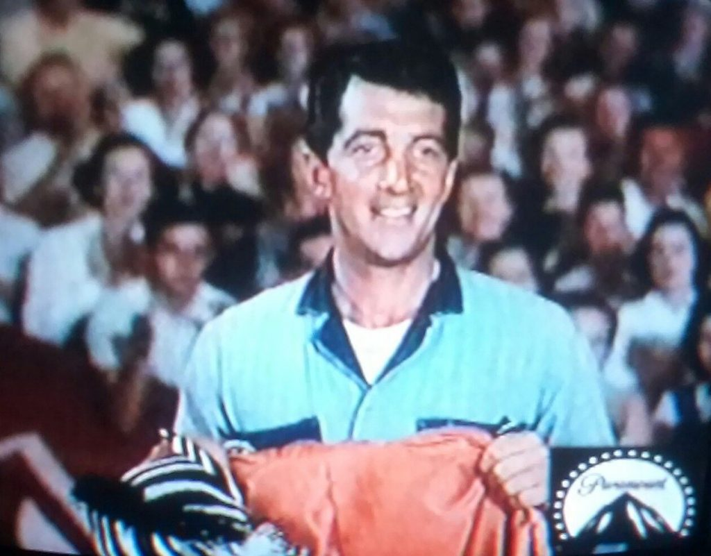 Dean Martin a a circus worker in 3 Ring Circus