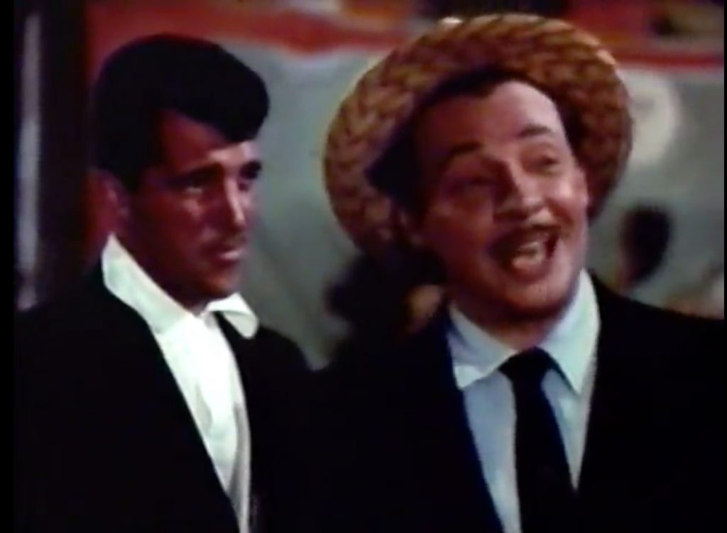 "Dean Martin tries to enforce ""honest gambling"" on the midway in 3 Ring Circus"