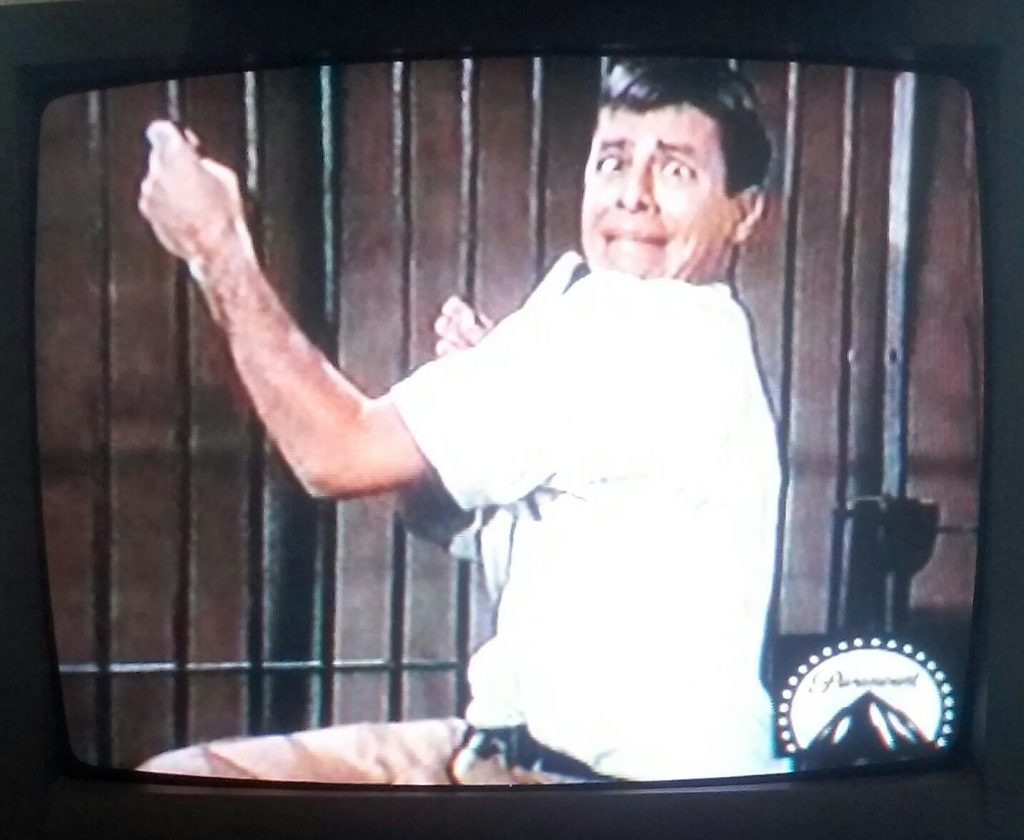 Jerry Lewis is the wrong candidate for assistant lion tamer in 3 Ring Circus