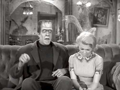 All-Star Munster - Herman Munster and his niece Marilyn