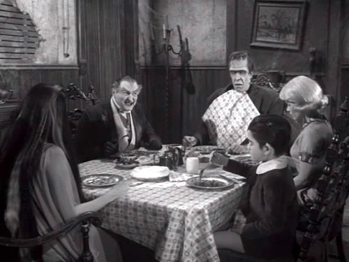 Dance With Me, Herman - the entire family (Lily, Grandpa, Herman, Marily, and Eddie) at the dinner table